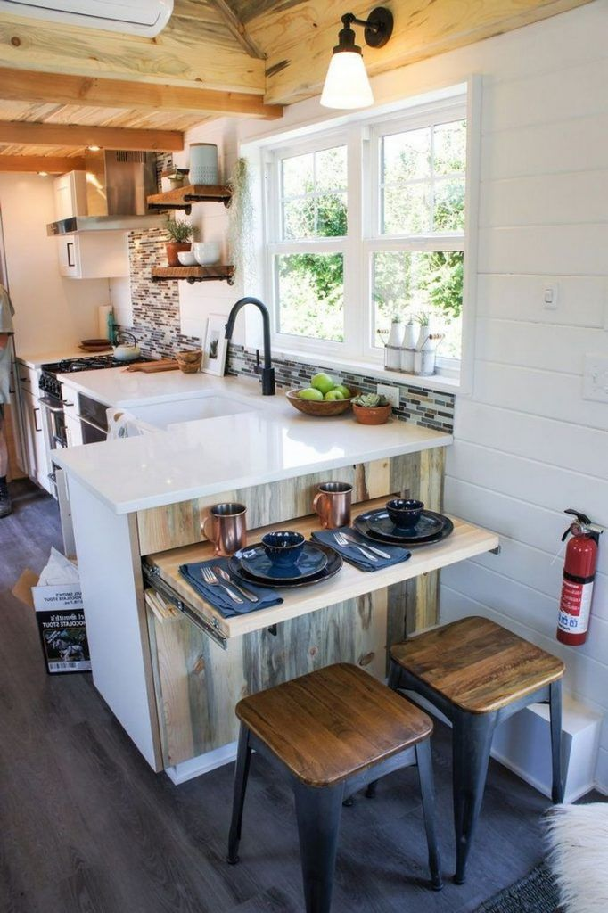 30 Extraordinary Small House Kitchen Design Ideas Best For Maximize Your Space In 2020 Small House Kitchen Design Tiny Kitchen Design Kitchen Remodel Small