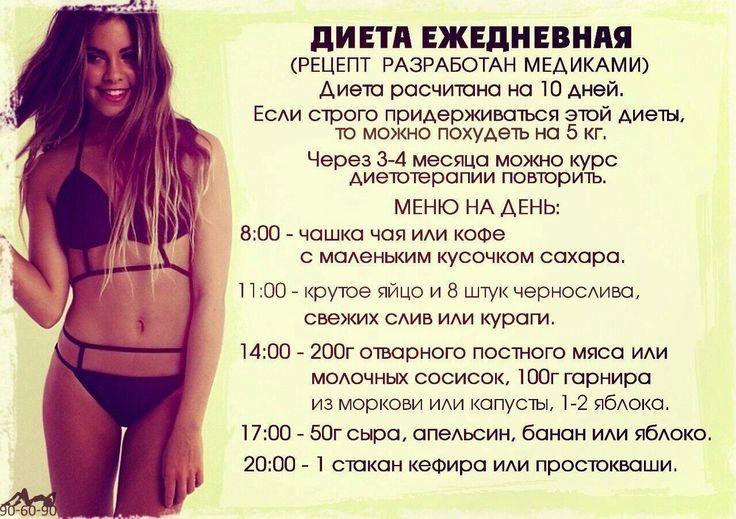 питание для быстрого похудения