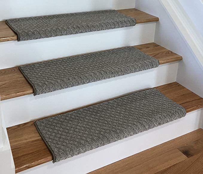 Amazon Com Tread Comfort Padded Adhesive Bullnose Stair Treads | Carpet For Stairs Amazon | Indoor Stair | Anti Slip | Stair Runner Rugs | Self Adhesive | Beige