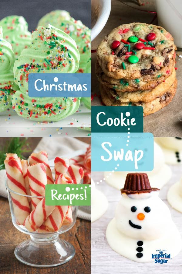 Christmas Cookie Recipes 2020 Christmas Cookie Exchange Party Recipes in 2020 | Christmas cookie