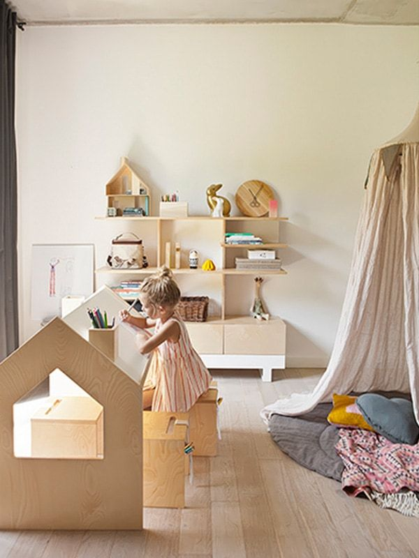 A Stunning Kids Desk For Drawing, Writing And Play For Creative Children By  Polish Designers