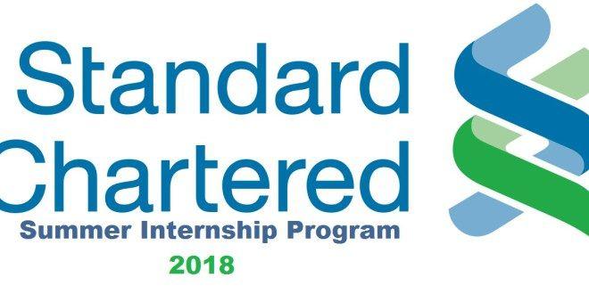 Standard Chartered Bank Inpernship Program 2018 Internship