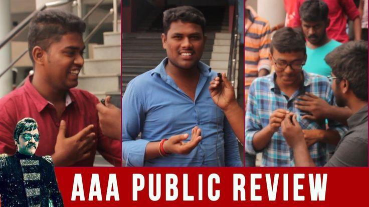 AAA - Anbanavan Asaradhavan Adangadhavan Public Review   Simbu, Shriya, TamannaThanks to : usha mini theatre , tirupur anbanavan asaradhavan adangadhavan, simbu, kollywood, aaa review, aaa movie review, str, tamil cinema review, ... Check more at http://tamil.swengen.com/aaa-anbanavan-asaradhavan-adangadhavan-public-review-simbu-shriya-tamanna/