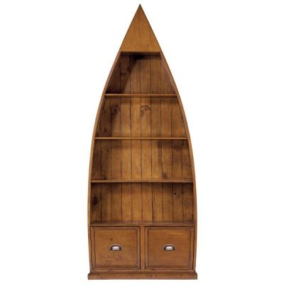 Boat Bookcase (I could see this in my families house)