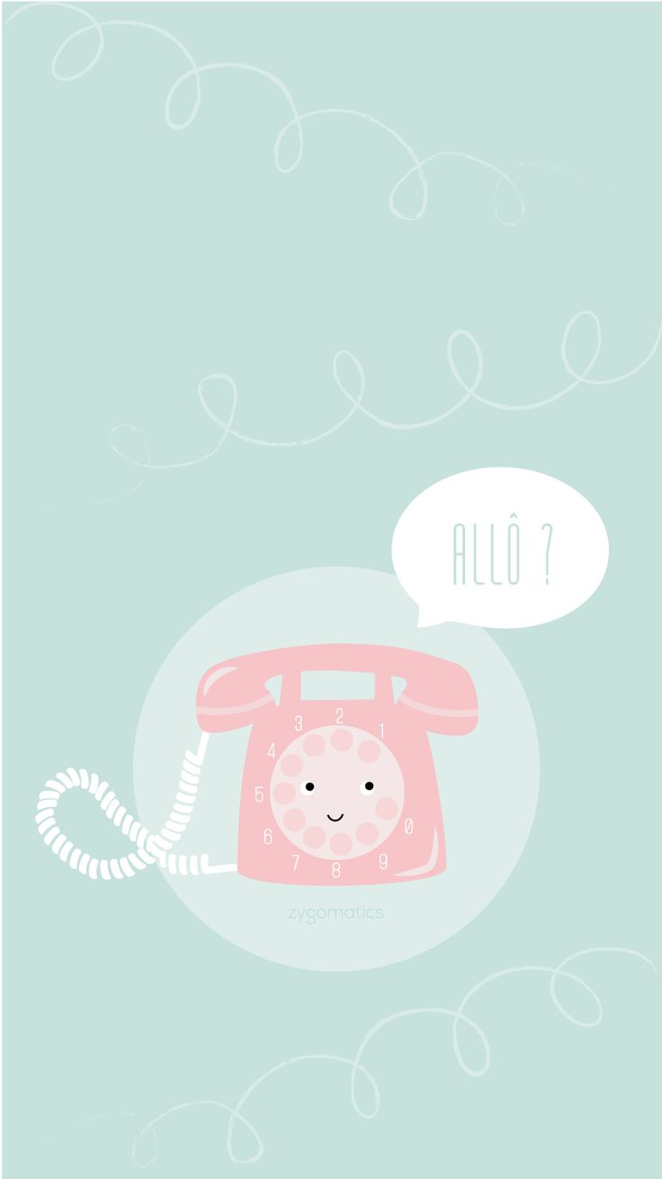 Telephone-mint-wallpaper-iphone6-accueil