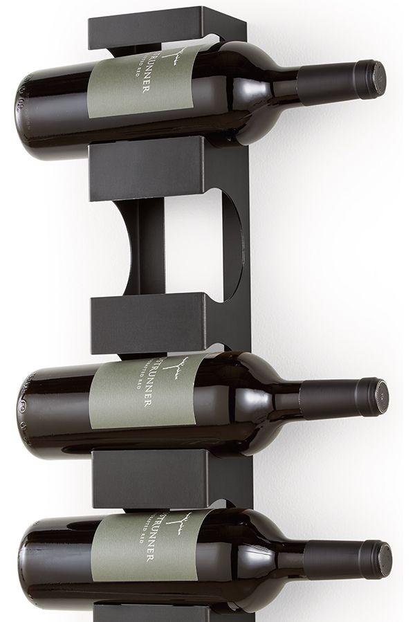 Dorsey Wall Mounted Wine Rack Modern