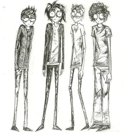 My Chemical Romance... Someone did one of these from Cherri Bomb too.
