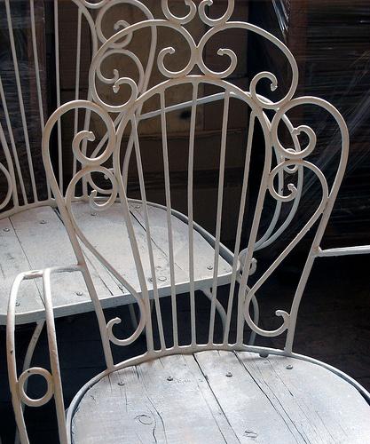 Sillas de terraza, Sonia Carroza Antiguedades