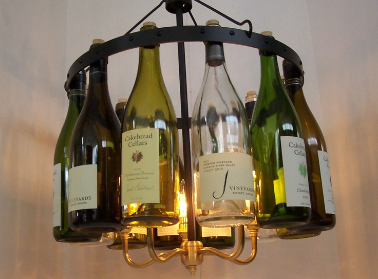 44 best rainvilledesigns wine bottle chandeliers images on pinterest custom wine bottle chandelier etsyshophmsc93 aloadofball