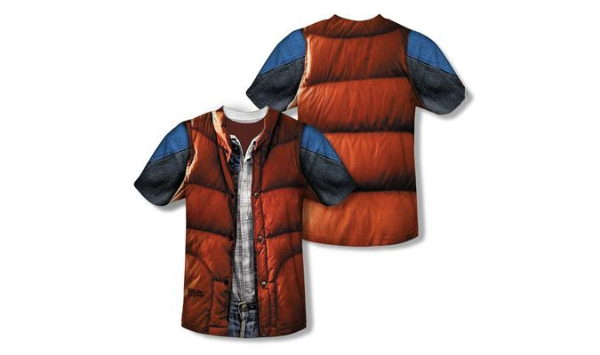 Marty McFly's Vest Costume T-Shirt From Back To The Future