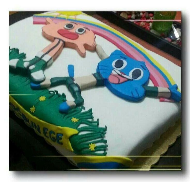 Gumball cake