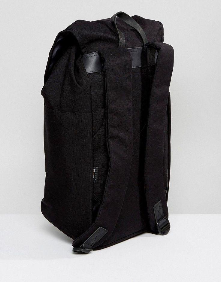 Sandqvist Hans Cordura Backpack in Black - Black