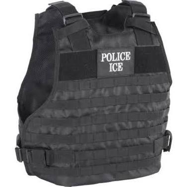 Voodoo Tactical Police Ice Plate Carrier Vest Black--L/XL