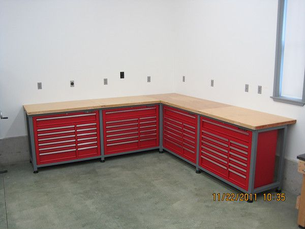 Harbor Freight Tool Boxes, Welded Frames - paint
