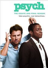 PSYCH THE EIGHTH AND FINAL SEASON 8 New Sealed 3 DVD Set