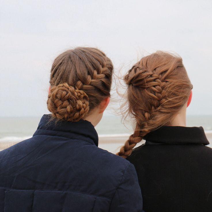 Sister braids by @yiyayellow :)
