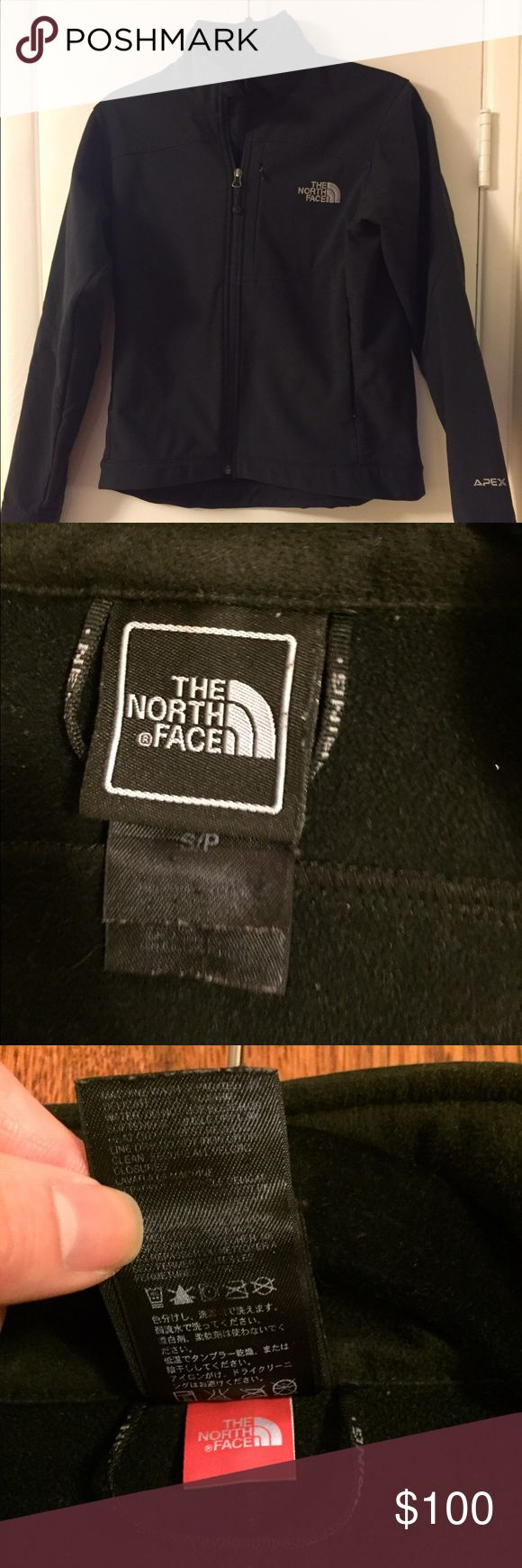 S North Face Water Resistant Jacket The outside its water resistant and it's a good jacket for both spring and fall. North Face Jackets & Coats Utility Jackets