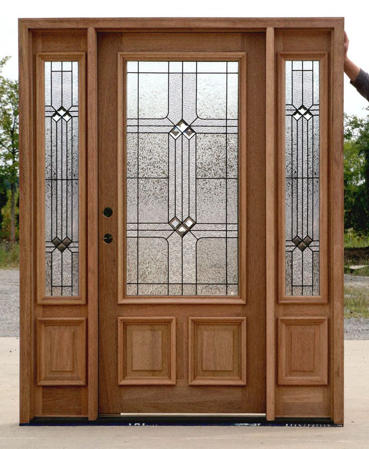 Best 25 exterior doors with sidelights ideas on pinterest for Exterior entry doors