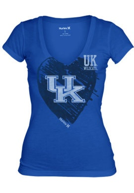 ACTION CUSTOM SPORTSWEAR : University of Kentucky Women's Perfect V-Neck T-Shirt : University of Kentucky Bookstore