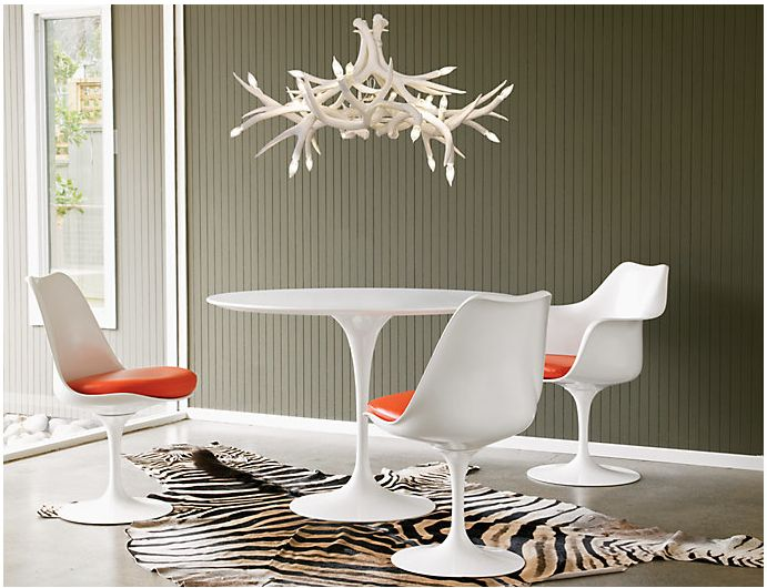 Saarinen Round Dining Table & 176 best Dining Tables/Chairs images on Pinterest | Chairs Dining ...