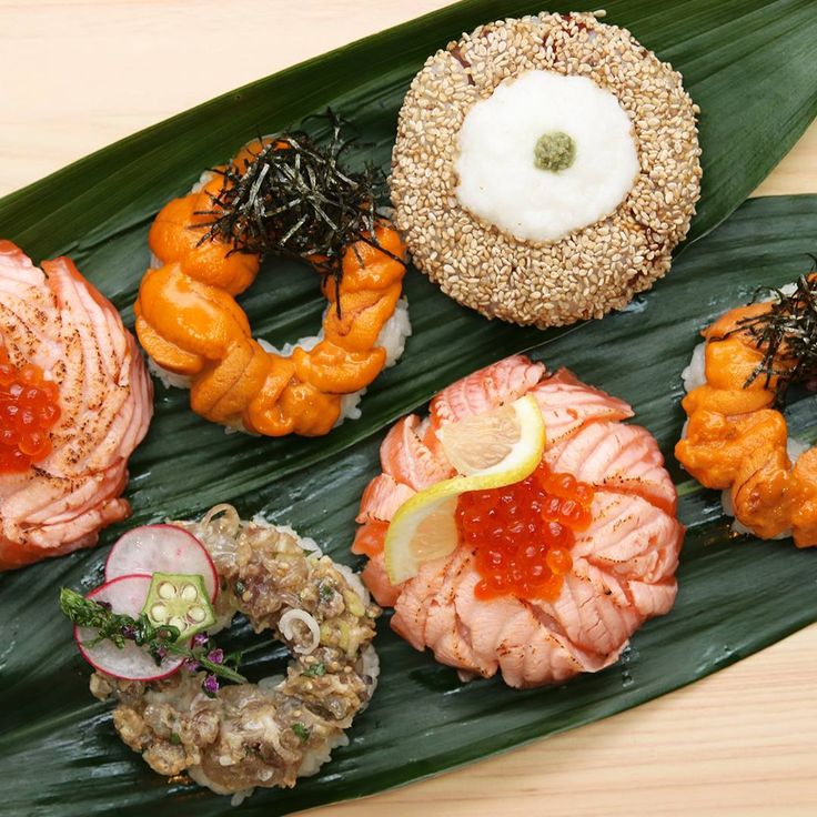 Sushi donuts started trending this year. Are they a step too far? Try this seared salmon donut and decide for yoursel.