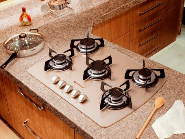 Cooktop ou fogão de mesa