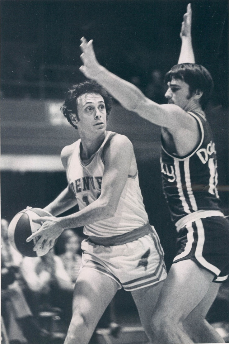 Ho houston rockets nba championship - Larry Brown Louie Dampier Kentucky Colonels At Denver Rockets Of The Aba