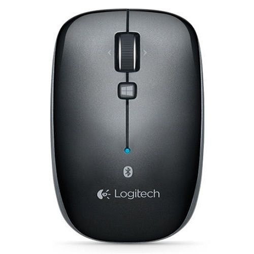 Logitech Bluetooth Wireless Mouse M557 Optical Black For PC Mac #Logitech