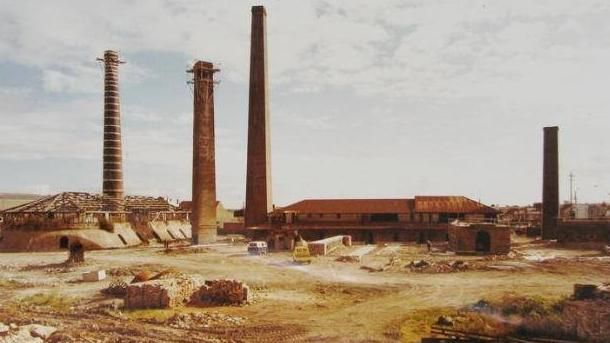 The Bedford Brickworks in St Peters kickstarted industry in the town and the chimneys remain as a reminder of the suburb's industrial past.