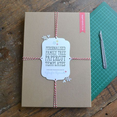 Cut Your Own Family Tree Papercut Kit