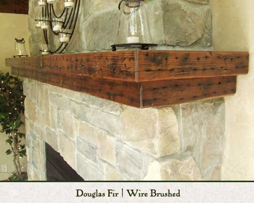 Painting Rough Cedar Ceiling Beams: Nice, Mantles And