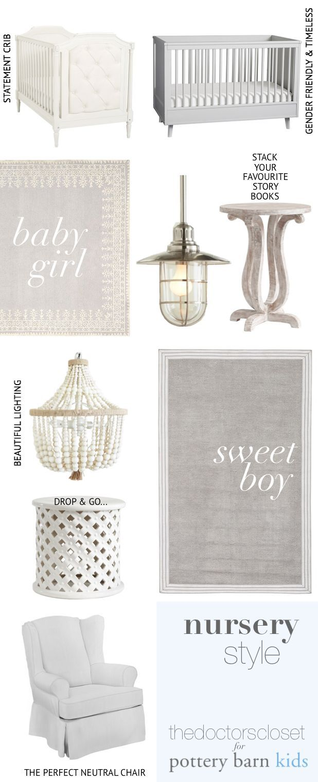 Perfect picks for a neutral nursery