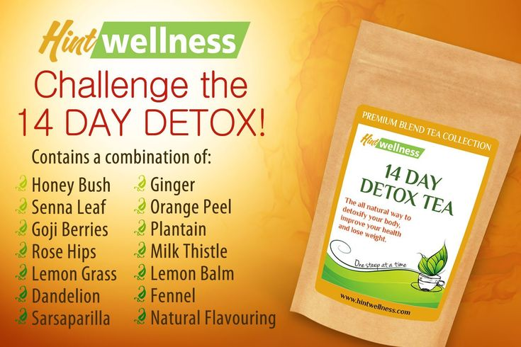 Hint Wellness 14 Day Detox Tea #productreview