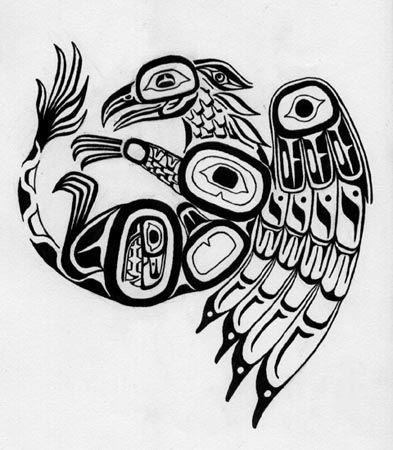 native american art first nations inuit and american tattoo design bild. Black Bedroom Furniture Sets. Home Design Ideas