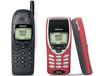 All the cool kids wanted a Nokia. I never liked Nokia's. Horrible, lumpy phones. Although playing snake was good fun.