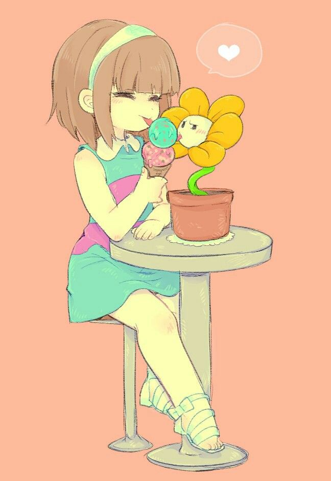 we all scream for flowey