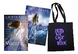 Lauren Kate fans rejoice! Own both Teardrop & Waterfall AND this crazy Book themed tote bag for ONLY R149!!