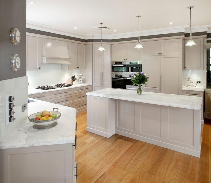 Weiße küche kabinette mit granit schlafzimmer