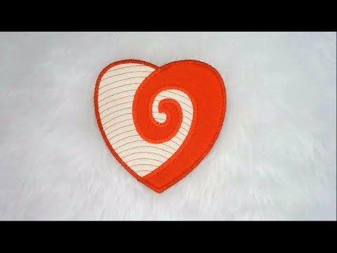 3761) In The Hoop Koru Heart - Design by Kreative Kiwi