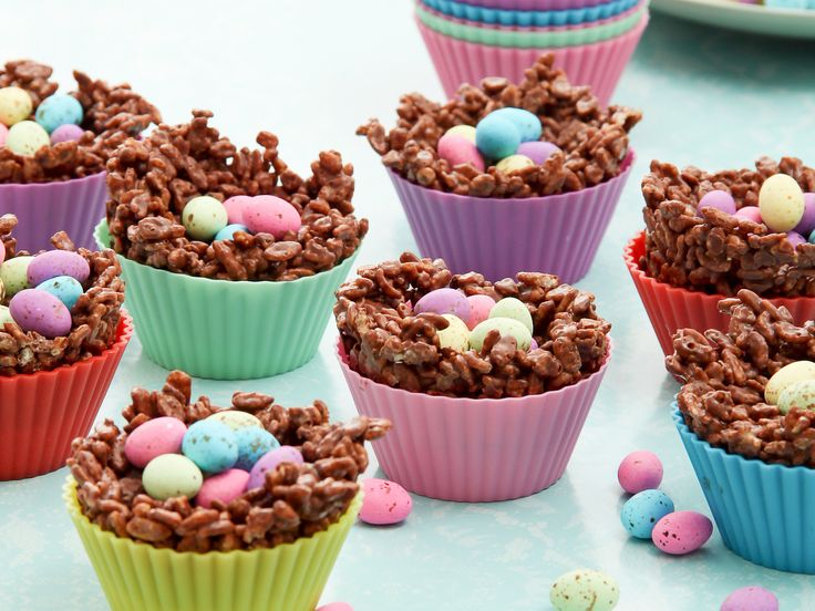 Give the hollow bunnies a miss and make these chocolate nests instead!