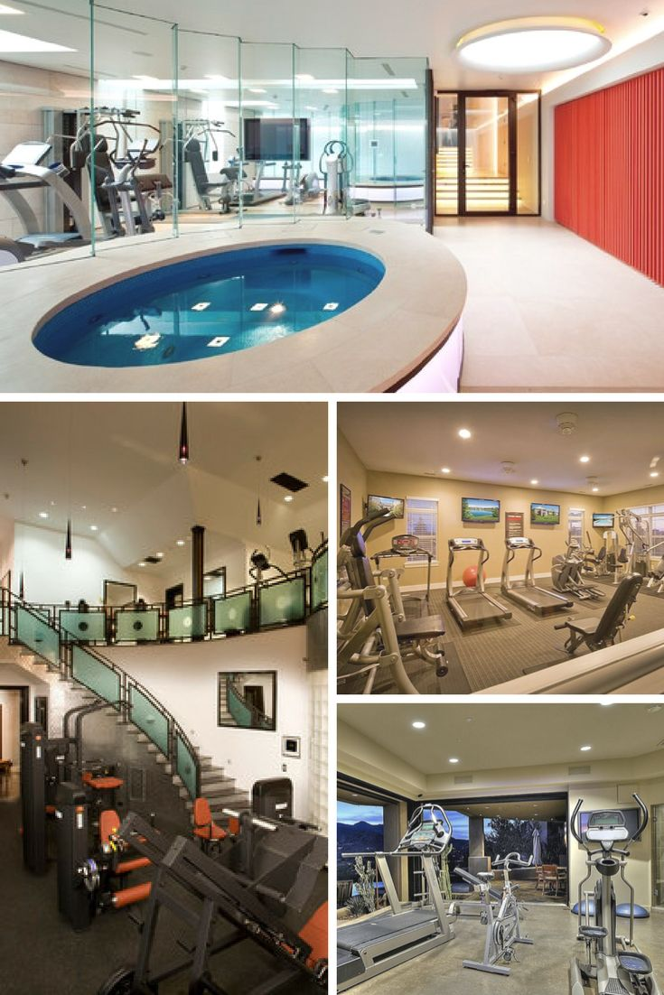 27 Luxury Home Gym Design Ideas For