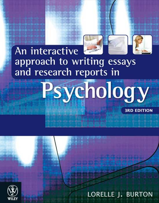 51 best academic writing images on pinterest gym school and english an interactive approach to writing essays and research reports in psychology 3rd edition by burton fandeluxe Gallery