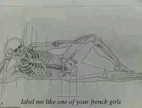 Label me like one of your French girls...