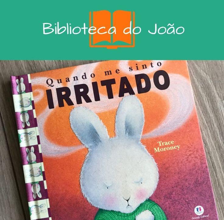 quando me sinto irritado, biblioteca do João, livro para trabalho a auto estima da criança