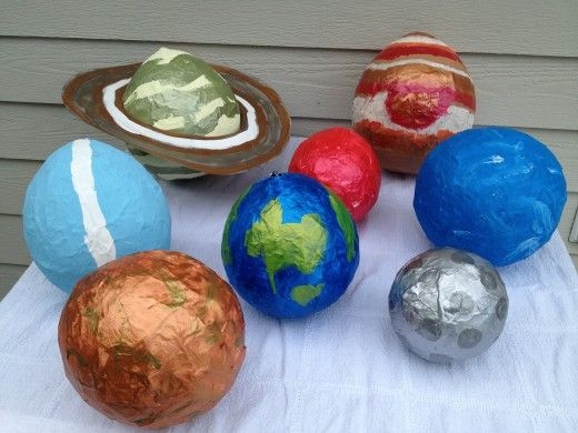 Solar System Projects: Mini Clay, Paper Mache, and Yarn ...