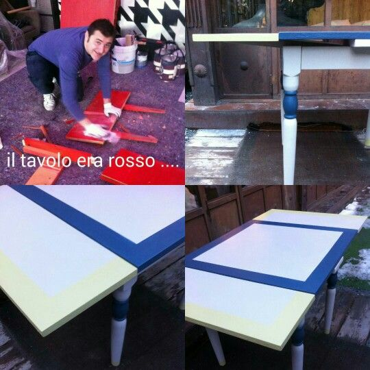 Restyling old table