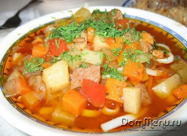 Крем-пюре суп с шампиньонами
