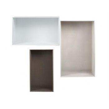 Rectangular Box Set Grey (Set of 3) $180.00 #sweetcreations #baby #toddlers #kids #furniture