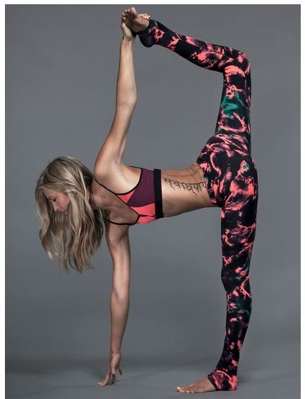 Beautiful legging and asana