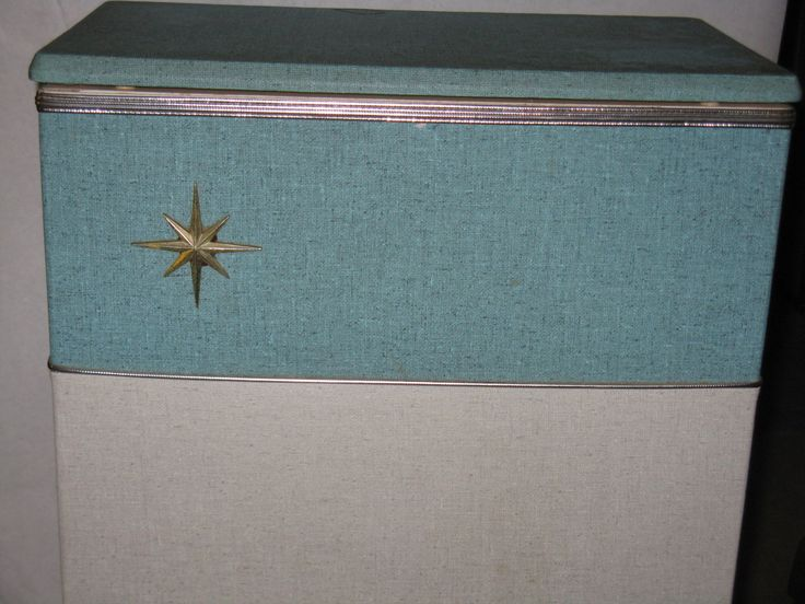 Mid Century Modern hamper vinyl over wood atomic star by AaronsArtichokeAlley on Etsy https://www.etsy.com/listing/254744894/mid-century-modern-hamper-vinyl-over